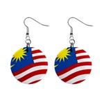 malaysia_flag.jpg 1 1  Button Earrings
