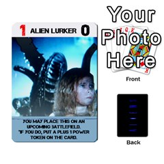 Aliens Card Game By Bob Menzel   Playing Cards 54 Designs   Wx8clki1kb4f   Www Artscow Com Front - Spade4
