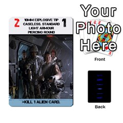 Aliens Card Game By Bob Menzel   Playing Cards 54 Designs   Wx8clki1kb4f   Www Artscow Com Front - Heart10