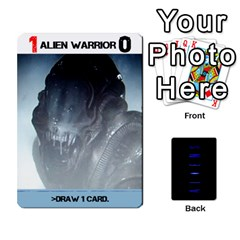 Aliens Card Game By Bob Menzel   Playing Cards 54 Designs   Wx8clki1kb4f   Www Artscow Com Front - Diamond4