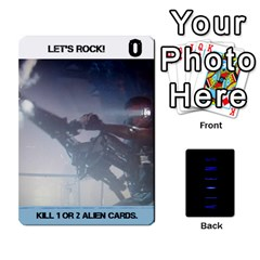 Aliens Card Game By Bob Menzel   Playing Cards 54 Designs   Wx8clki1kb4f   Www Artscow Com Front - Club7
