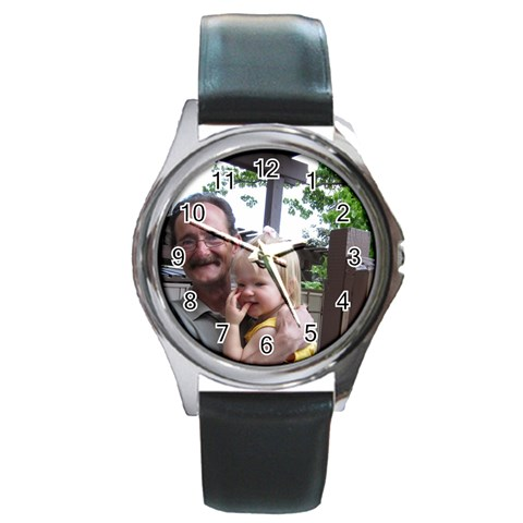 By Stacy Albert   Round Metal Watch   Oc81nyxsofw7   Www Artscow Com Front