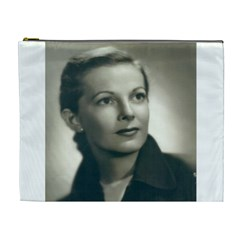 Mom s Photo on a Cosmetic Bag by Eva Martinez Front