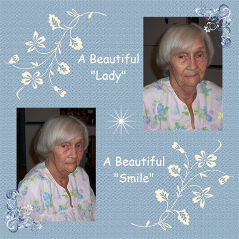 A Beautiful Lady By Judy   Scrapbook Page 12  X 12    V3mes8bmxww3   Www Artscow Com 12 x12 Scrapbook Page - 1