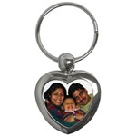 1st key chain - Key Chain (Heart)