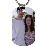 bad memories - Dog Tag (One Side)