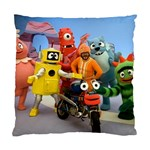 Paxtons Yo Gabba Gabba Pillow Case - Standard Cushion Case (Two Sides)