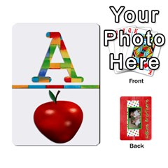 New Flash Cards By Brookieadkins Yahoo Com   Playing Cards 54 Designs   R6dlbgz1lm57   Www Artscow Com Front - Diamond2