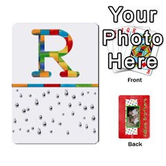 New Flash Cards By Brookieadkins Yahoo Com   Playing Cards 54 Designs   R6dlbgz1lm57   Www Artscow Com Front - Club6