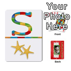 New Flash Cards By Brookieadkins Yahoo Com   Playing Cards 54 Designs   R6dlbgz1lm57   Www Artscow Com Front - Club7