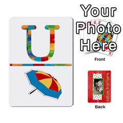 New Flash Cards By Brookieadkins Yahoo Com   Playing Cards 54 Designs   R6dlbgz1lm57   Www Artscow Com Front - Club8