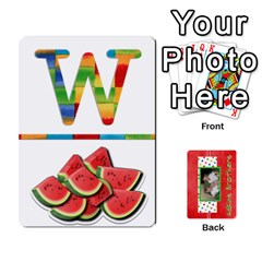New Flash Cards By Brookieadkins Yahoo Com   Playing Cards 54 Designs   R6dlbgz1lm57   Www Artscow Com Front - Club10
