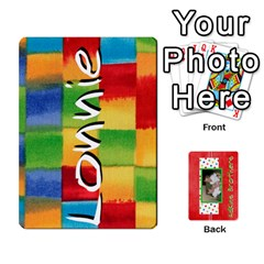 Ace New Flash Cards By Brookieadkins Yahoo Com   Playing Cards 54 Designs   R6dlbgz1lm57   Www Artscow Com Front - ClubA