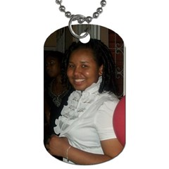 By Kerry Ann Smith   Dog Tag (two Sides)   4gjgdf3e5hz2   Www Artscow Com Front