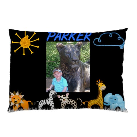 Parker Pillow Case 4 By Carla   Pillow Case   Sjj92oc66l4y   Www Artscow Com 26.62 x18.9 Pillow Case