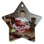 Kirianna 2008 S - Star Ornament (Two Sides)