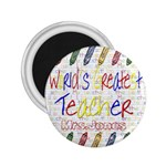 teacher magnet - 2.25  Magnet