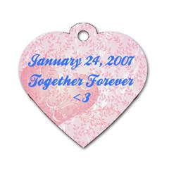 Together Forever By Stacey   Dog Tag Heart (two Sides)   Rhwwbp0pu3cs   Www Artscow Com Back