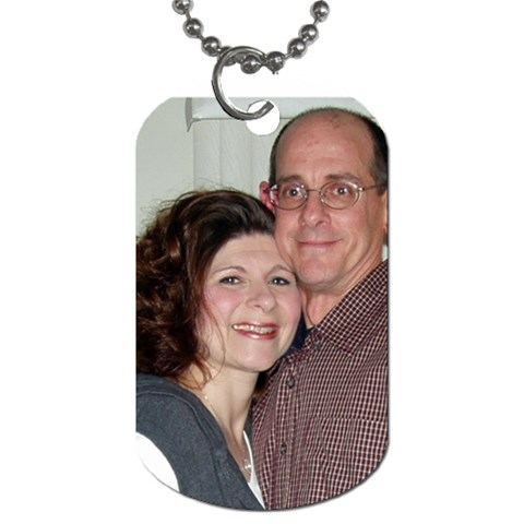 Around My Neck   Near My Heart! By Cathi   Dog Tag (one Side)   Wlgx8k7ivi36   Www Artscow Com Front