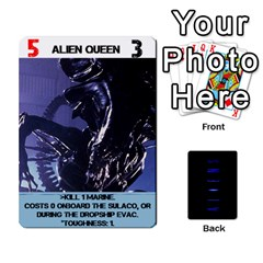 Aliens: This Time It s War By Bob Menzel   Playing Cards 54 Designs   Lxtu6a3cldyz   Www Artscow Com Front - Spade3