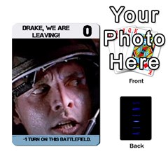 Aliens: This Time It s War By Bob Menzel   Playing Cards 54 Designs   Lxtu6a3cldyz   Www Artscow Com Front - Diamond5