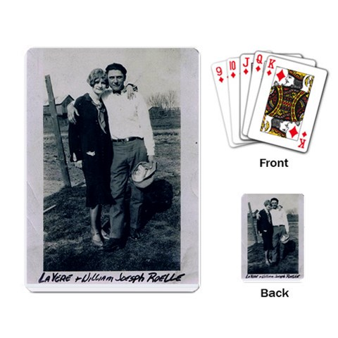 Reunion Cards By James Shiley   Playing Cards Single Design   Gmr3yvt9wo70   Www Artscow Com Back