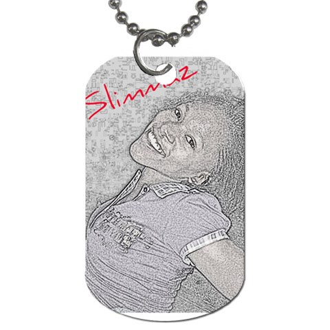 By Kerry Ann Smith   Dog Tag (one Side)   B0o5et1tcpw2   Www Artscow Com Front