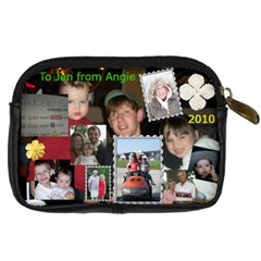 Jennifer Case By Angela Emery   Digital Camera Leather Case   Ob3v97azt6kv   Www Artscow Com Back