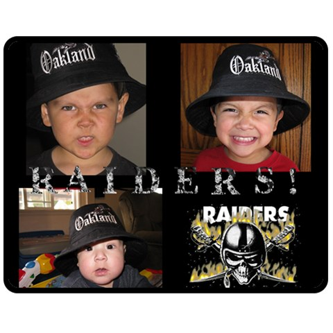 Raider Blanket For Daddy By April Virgen   Fleece Blanket (medium)   Izva7mf3esvq   Www Artscow Com 60 x50 Blanket Front