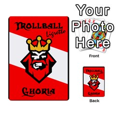 Gorghor Trollball Deck 3   Mixed By Wazo   Multi Purpose Cards (rectangle)   5tts51932x5h   Www Artscow Com Front 43