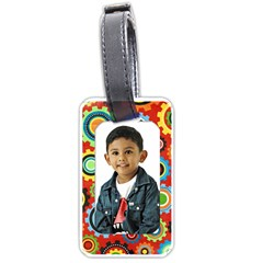 Bt1 By Mom2nikki   Luggage Tag (two Sides)   Ka75w6h9rsje   Www Artscow Com Front