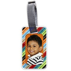 Bt2 By Mom2nikki   Luggage Tag (two Sides)   Yutd9rgc5jx1   Www Artscow Com Front