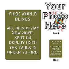 Cds Free World Cards By Brian Weathersby   Multi Purpose Cards (rectangle)   Ibihjj5ojevb   Www Artscow Com Back 1