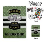 Geronimo! Airborne Expansion - Multi-purpose Cards (Rectangle)