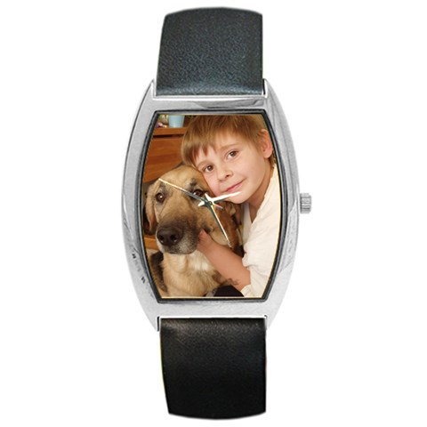 Father s Day! By Cathi   Barrel Style Metal Watch   Lcop87ydsy7f   Www Artscow Com Front