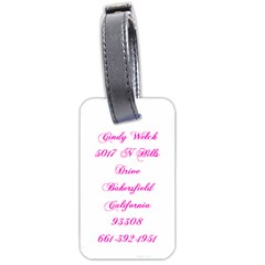 Europe Luggage Tag By Cindy Welch   Luggage Tag (two Sides)   Ed33b9q8s3je   Www Artscow Com Back