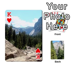 King Yosemite Cards By Amy Barton   Playing Cards 54 Designs   3x9hom9gt9cu   Www Artscow Com Front - HeartK