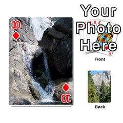 Yosemite Cards By Amy Barton   Playing Cards 54 Designs   3x9hom9gt9cu   Www Artscow Com Front - Diamond10