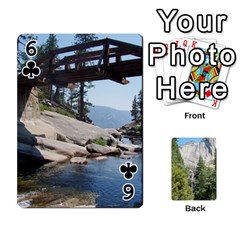 Yosemite Cards By Amy Barton   Playing Cards 54 Designs   3x9hom9gt9cu   Www Artscow Com Front - Club6