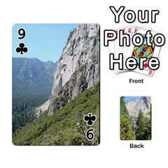 Yosemite Cards By Amy Barton   Playing Cards 54 Designs   3x9hom9gt9cu   Www Artscow Com Front - Club9