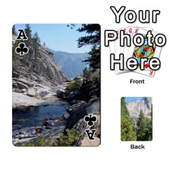 Ace Yosemite Cards By Amy Barton   Playing Cards 54 Designs   3x9hom9gt9cu   Www Artscow Com Front - ClubA