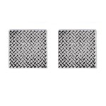 Grey Diamond Plate - Cufflinks (Square)