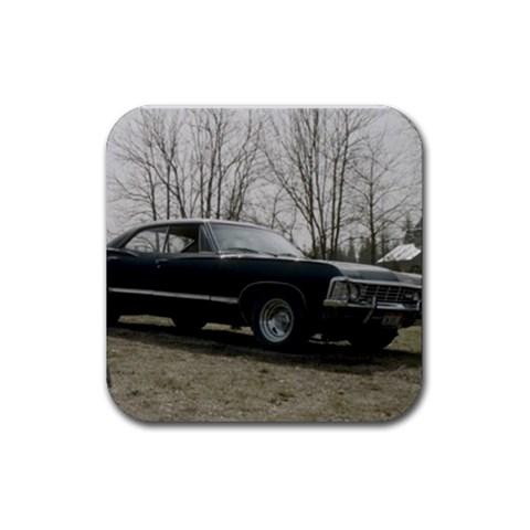 Impala By Jessica   Rubber Coaster (square)   Sn4idspm1pq4   Www Artscow Com Front