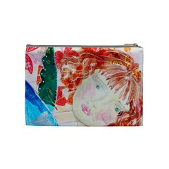 Angel By Belinda   Cosmetic Bag (medium)   Yj9iypfo3hq5   Www Artscow Com Back