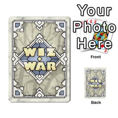 Ilya Baranovsky s Wiz War 2/4 By Mathieu Perreault Dorion   Playing Cards 54 Designs   6k7225joohc3   Www Artscow Com Back