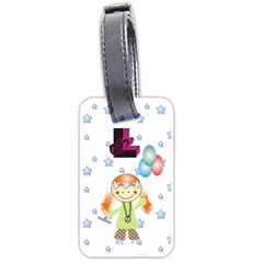 Cartel By Lydia   Luggage Tag (two Sides)   99tdrxhf6erl   Www Artscow Com Back