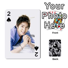 Suju Playing Cards By Mia Story   Playing Cards 54 Designs   W8tp8dk6qnxd   Www Artscow Com Front - Spade2