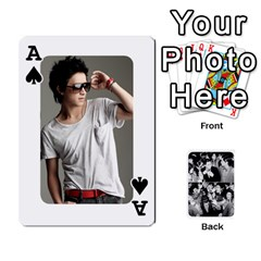 Ace Suju Playing Cards By Mia Story   Playing Cards 54 Designs   W8tp8dk6qnxd   Www Artscow Com Front - SpadeA