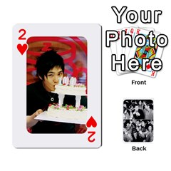 Suju Playing Cards By Mia Story   Playing Cards 54 Designs   W8tp8dk6qnxd   Www Artscow Com Front - Heart2