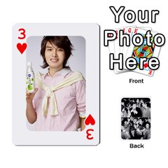 Suju Playing Cards By Mia Story   Playing Cards 54 Designs   W8tp8dk6qnxd   Www Artscow Com Front - Heart3